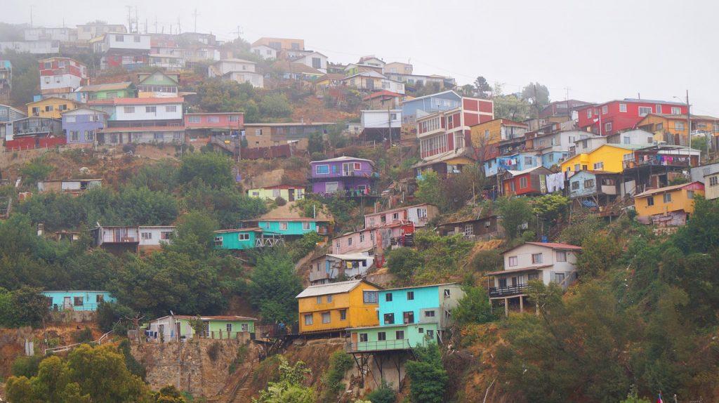 top 5 vakantiebestemmingen - valparaiso
