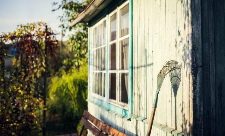 4 tips om je tuinhuis te schilderen