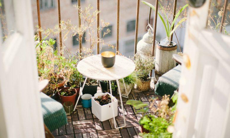 moestuin op balkon
