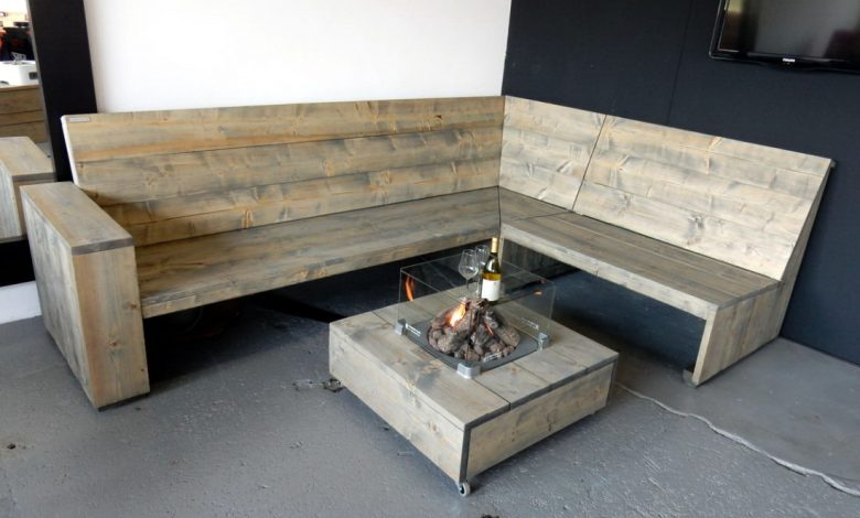 houten loungesets