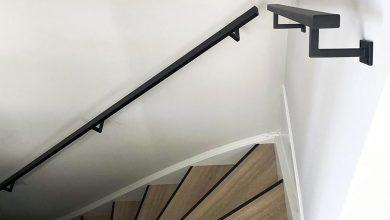 Photo of Zwarte trapleuningen voor een stijlvol interieur