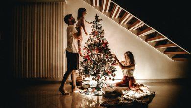 Photo of Origineel: een houten kerstboom