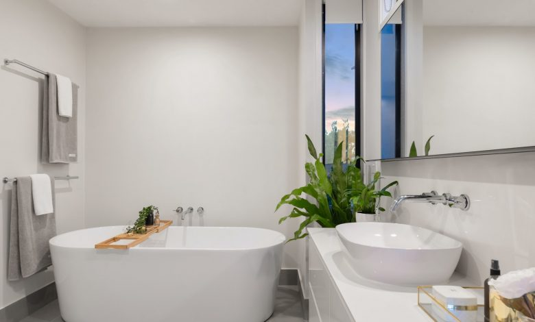 badkamer groter te laten ogen